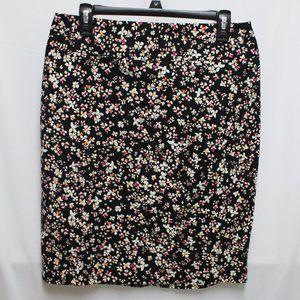 Liz Claiborne Career Floral Pencil Skirt